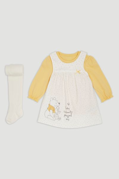 Disney Winnie the Pooh Dress & Tights