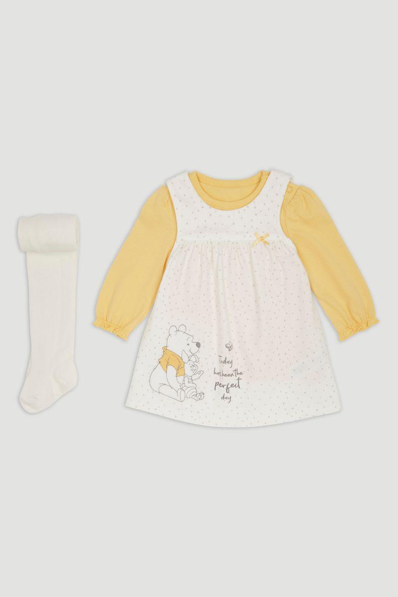 Disney Winnie the Pooh Dress & Tights