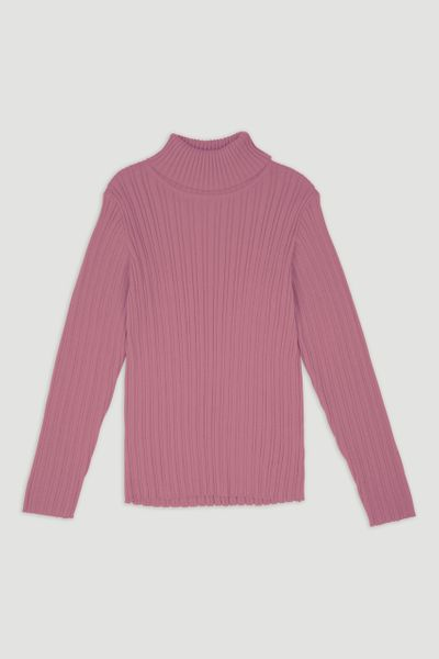 Pink Skinny Rib top 1-6yrs