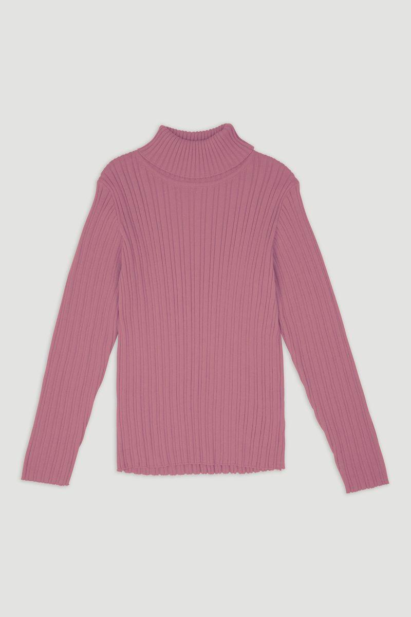 Pink Skinny Rib top 1-6yrs