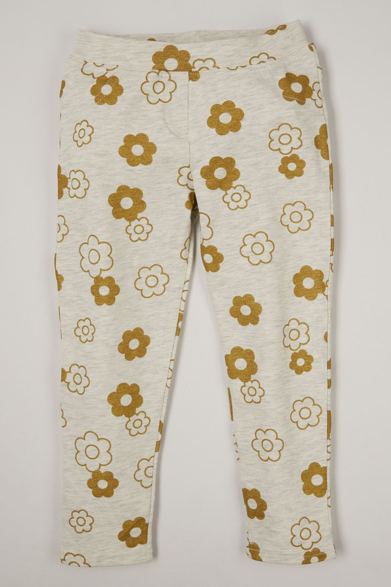 Flower Print Treggings