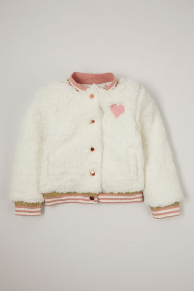 Heart Sherpa jacket