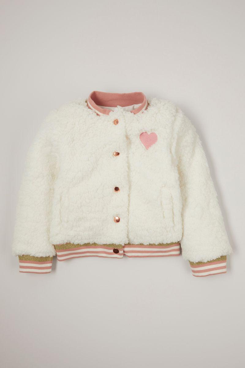 Heart Sherpa jacket