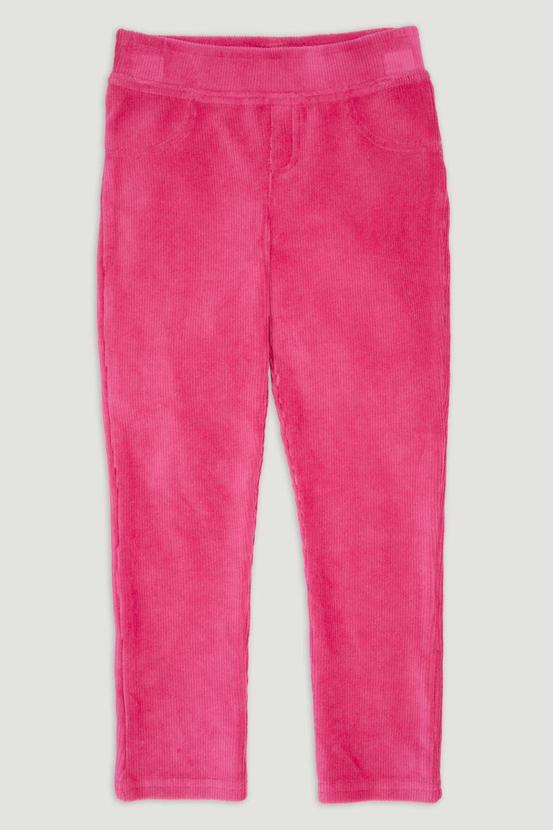 Bright pink Velour Leggings