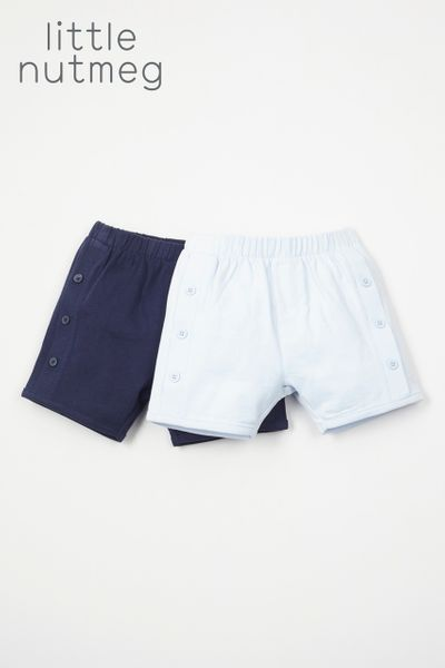 Little Nutmeg 2 Pack Sailor shorts