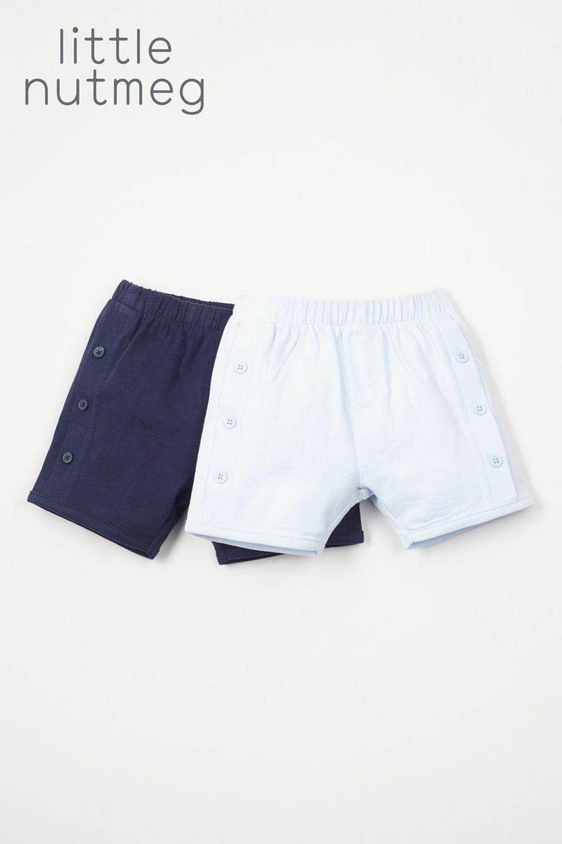 Little Nutmeg 2 Pack Sailor shorts