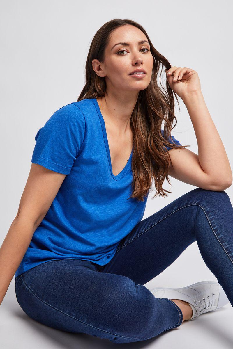 Basic Cobalt Loose Fit T-shirt