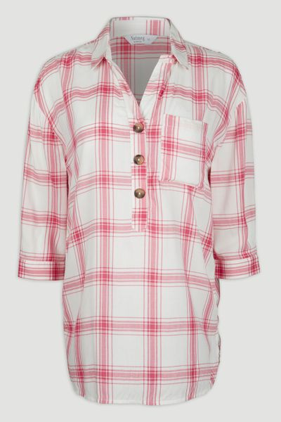 Overhead Red Check Shirt
