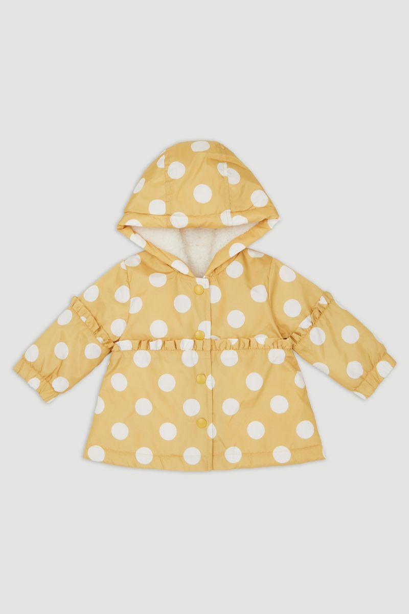 Spot Print Coat