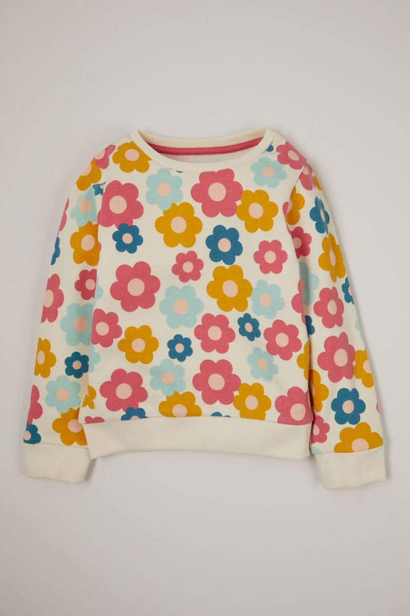Retro Flower sweatshirt