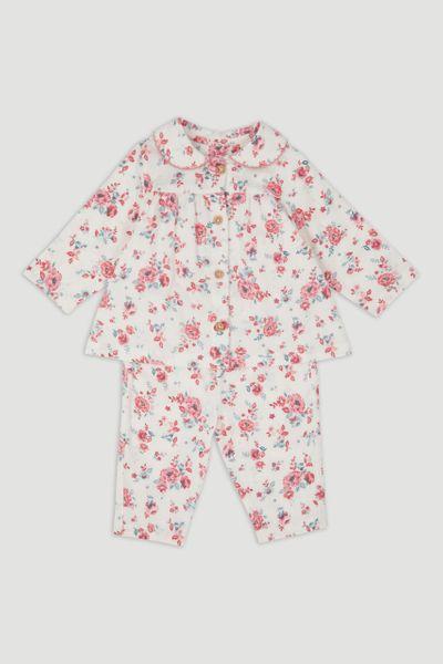 Vintage Flower Woven Pyjamas