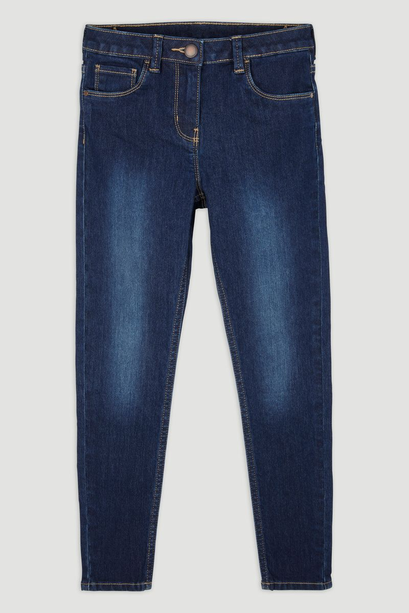 Blue Denim Skinny Fit Jeans