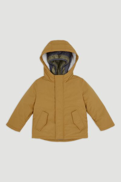 3-in-1 Ochre Padded Coat