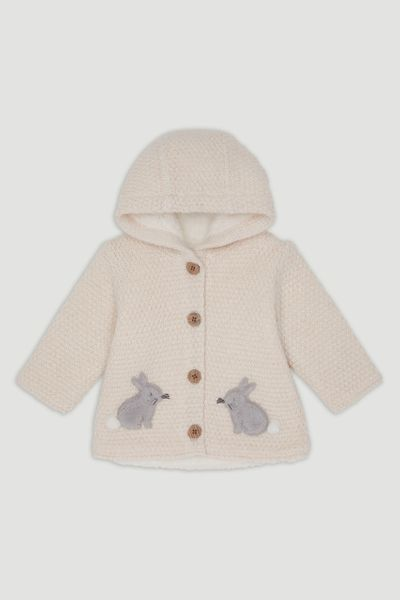 Bunny Hooded Cardigan
