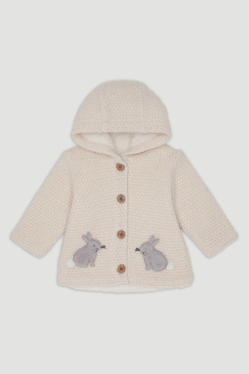 Bunny Hooded Cardigan