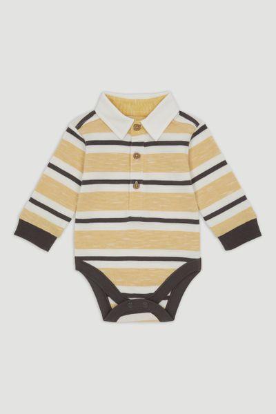Mustard Rugby Bodysuit