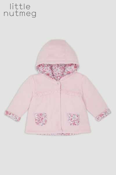 Little Nutmeg Pink Reversible Jacket
