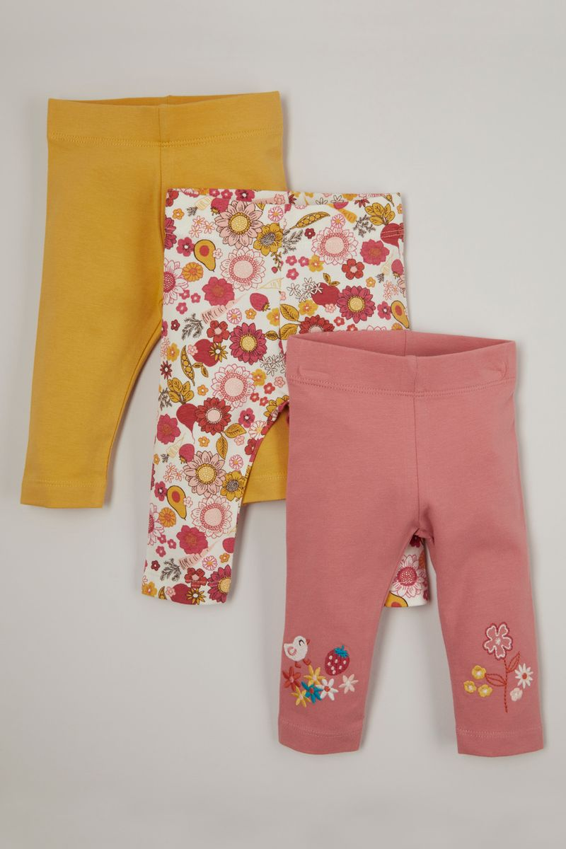 3 Pack Sunflower Leggings