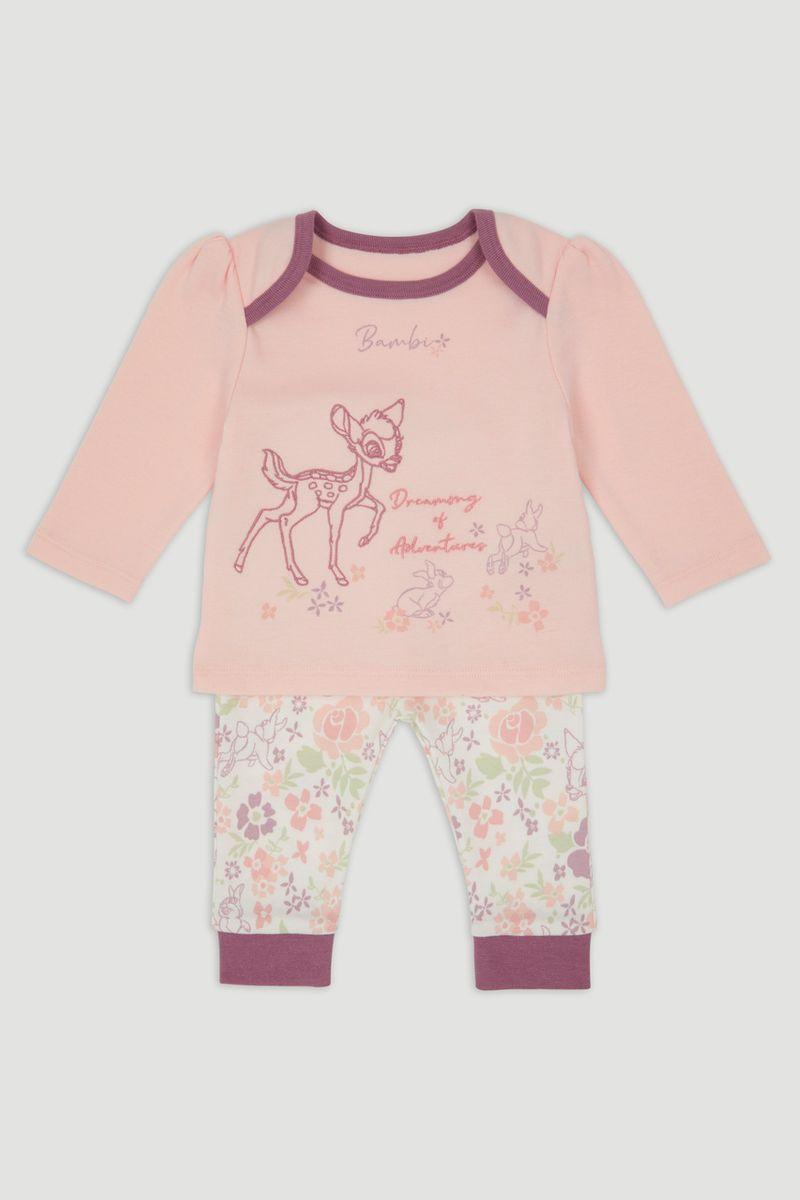 Disney Pink Bambi & Thumper Pyjamas