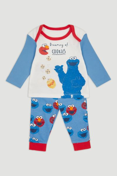 Cookie Monster Blue Pyjamas