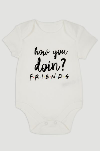 Friends Slogan Bodysuit