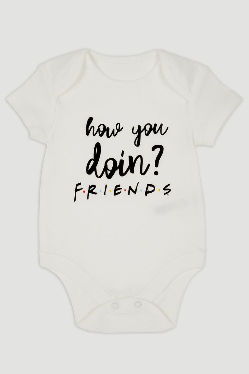 Friends Slogan Bodysuit