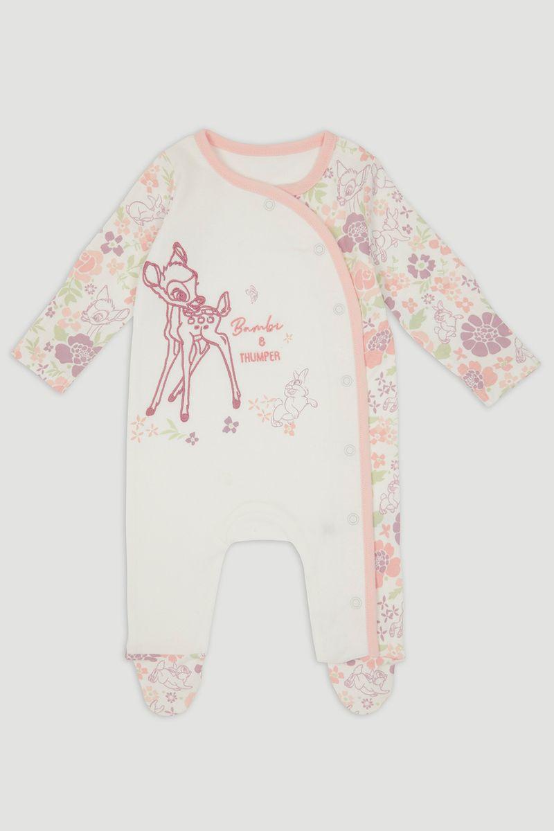 Disney Bambi & Thumper Pink Sleepsuit