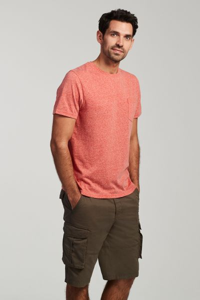 Coral Pocket T-Shirt