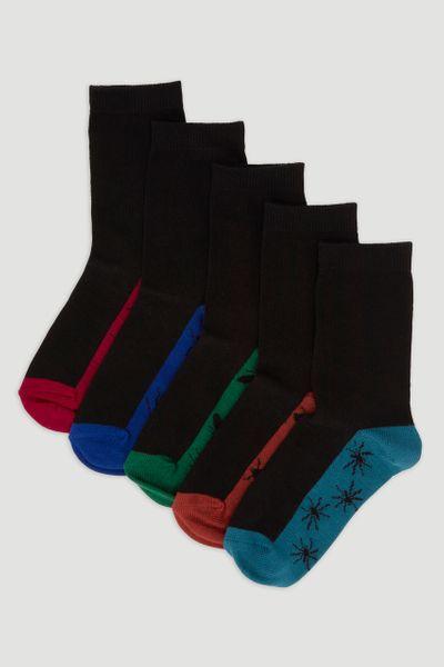 5 Pack Bug Socks