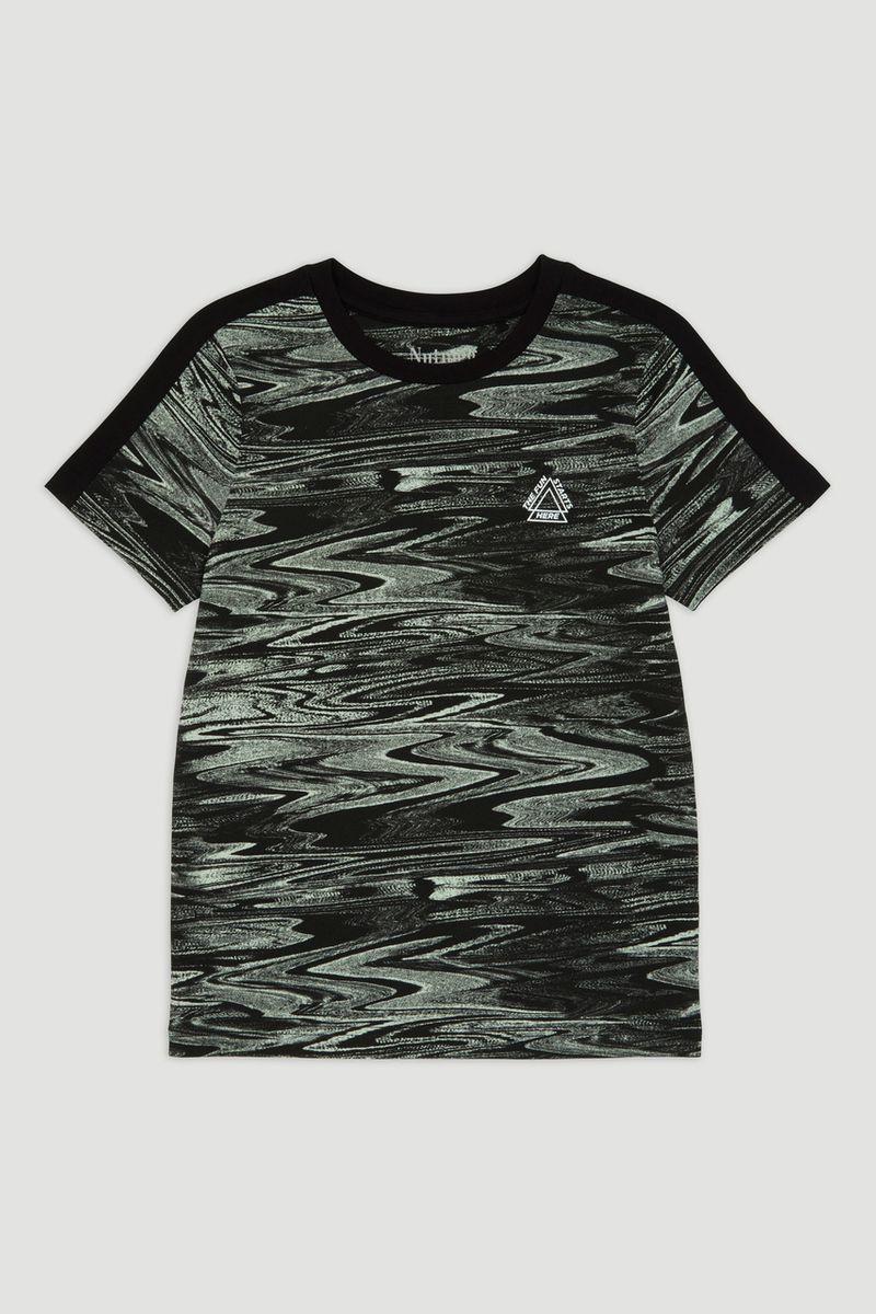 Marble Print T-shirt