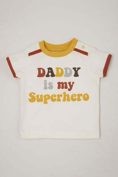 Daddy is My Superhero T-Shirt