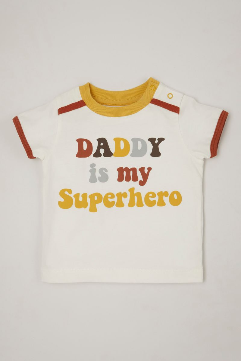 Daddy is My Superhero T-Shirt