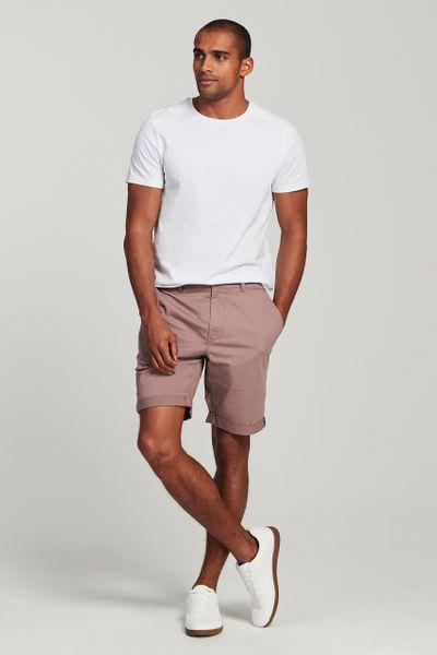 Mauve Chino Shorts