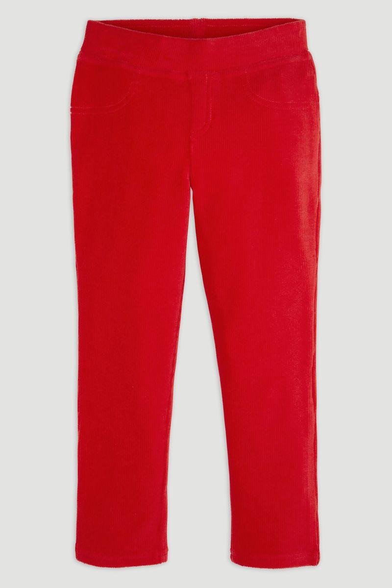 Red Velour Leggings