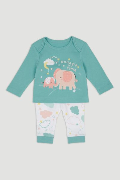 Snuggle Time Elephant Pyjamas
