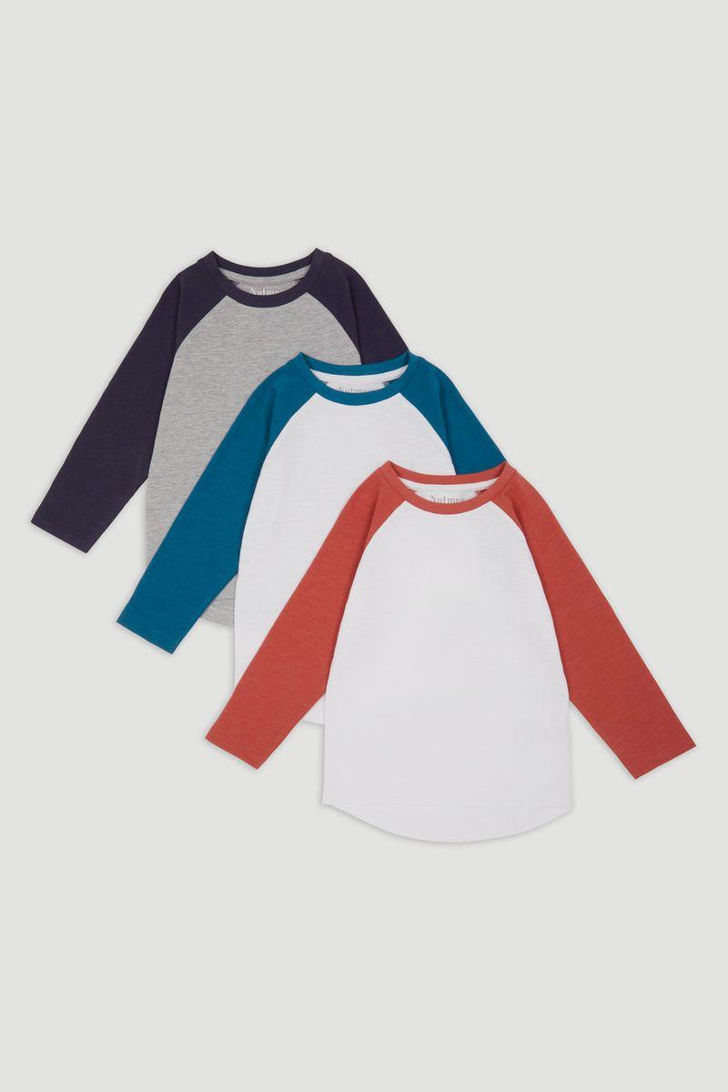 3 Pack Raglan T-shirts