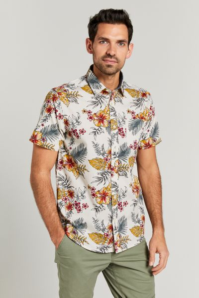 Floral BBQ Shirt