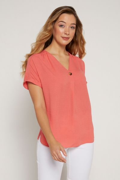 Coral Overhead Shirt