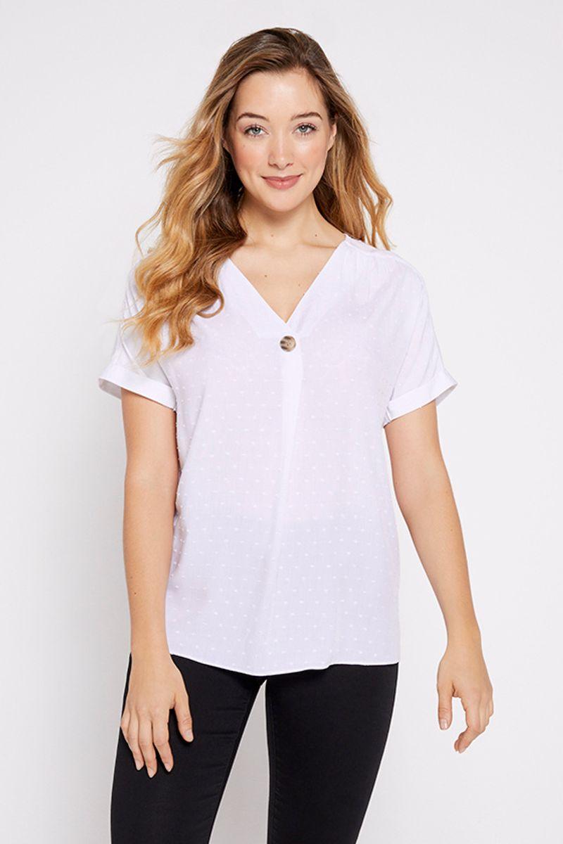 White Overhead Shirt