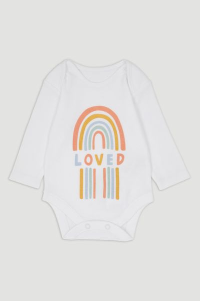 Rainbow Long Sleeve Bodysuit