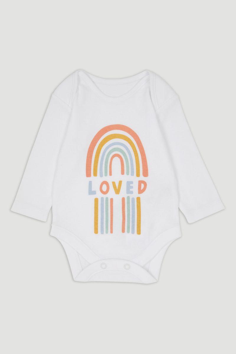 Rainbow Long Sleeve Bodysuit