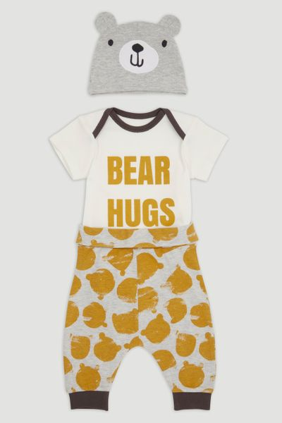 3 Piece Bear Hug set