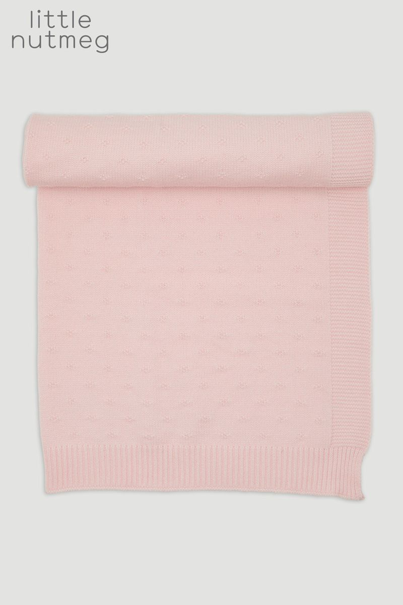 Little Nutmeg Pink Shawl