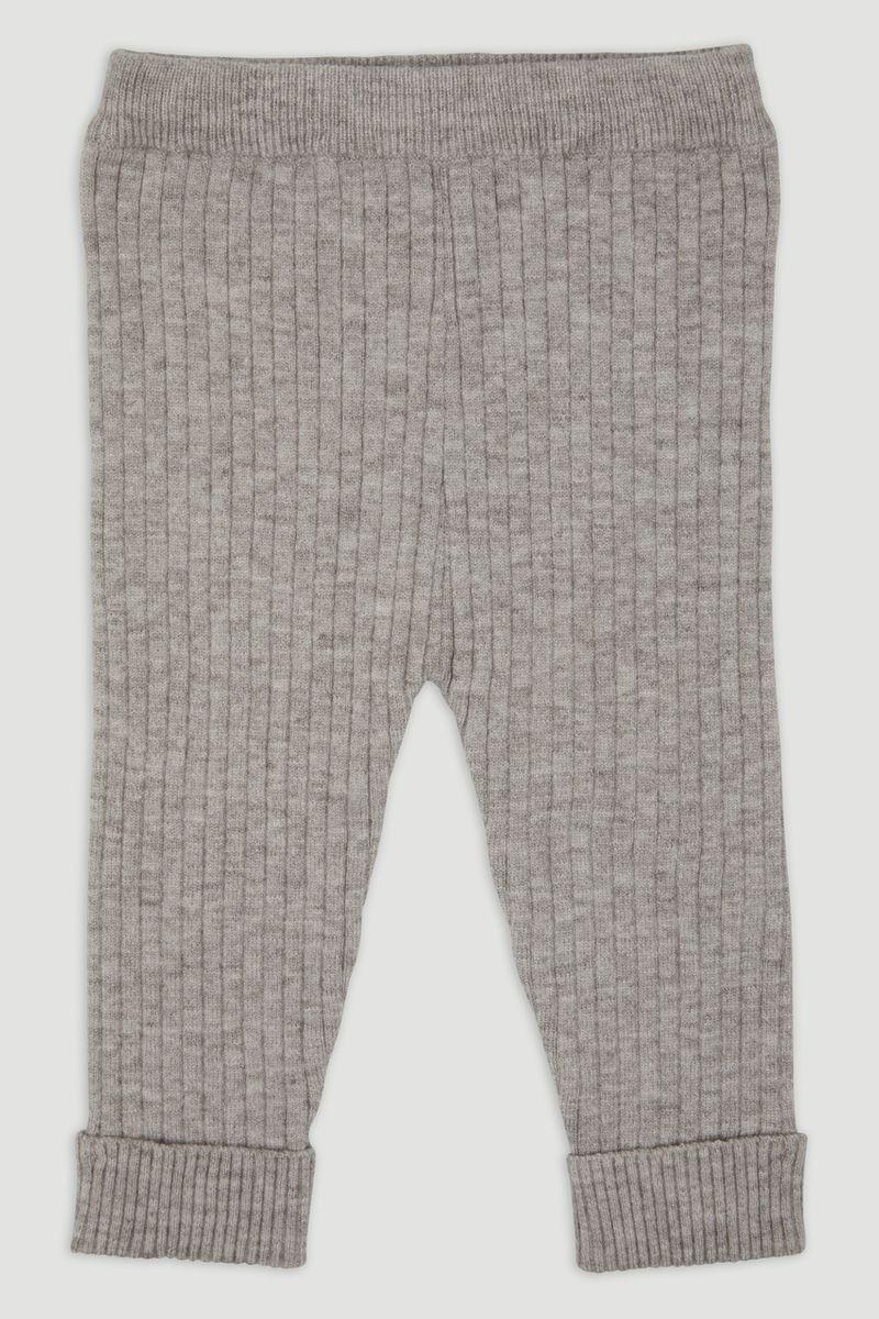 Grey rib Knit Leggings