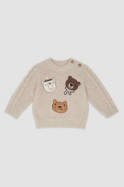Bear Applique Jumper