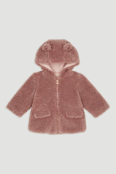Sherpa Fleece Coat