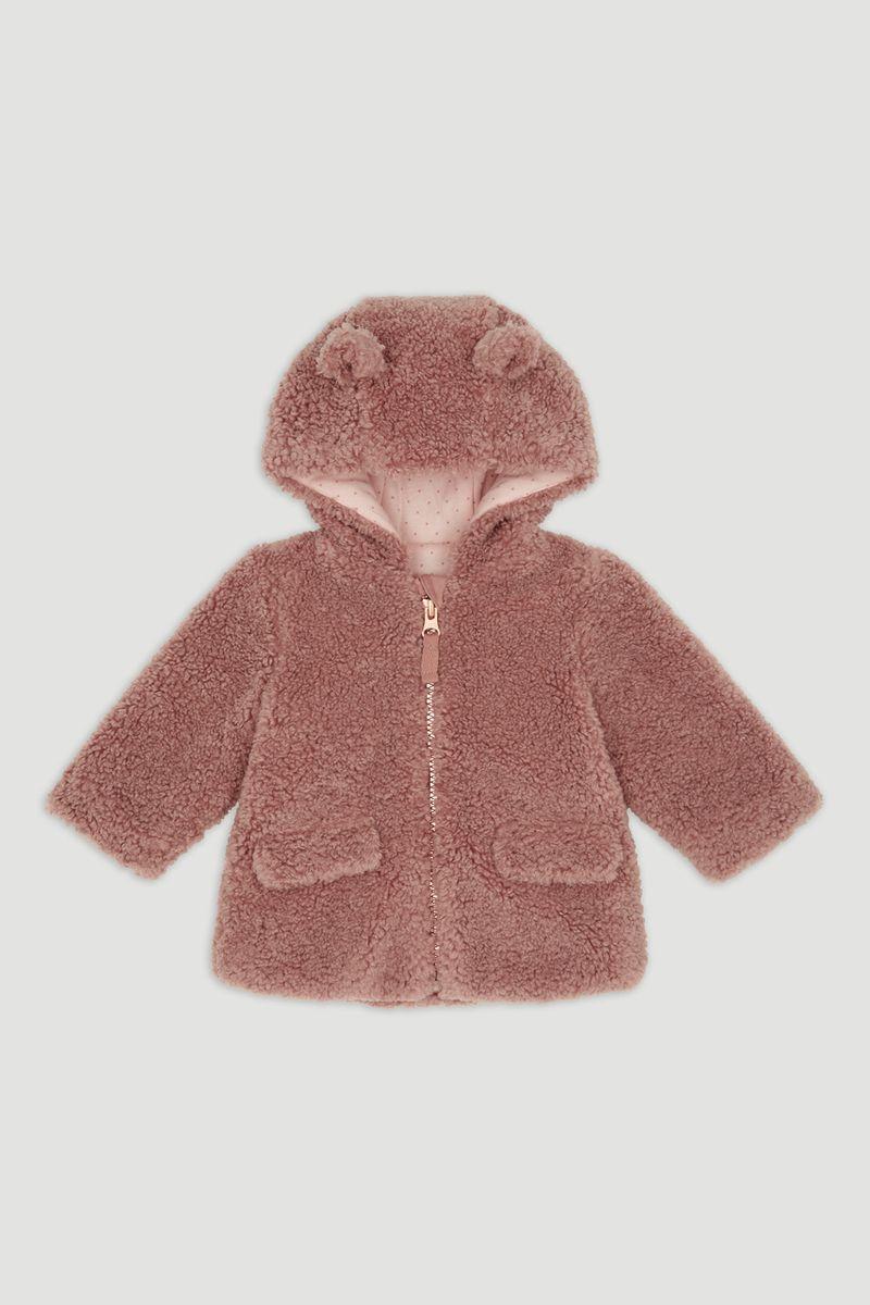 Sherpa Fleece Coat