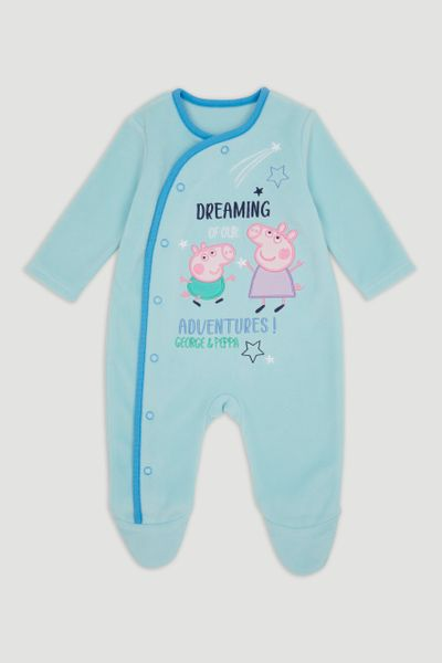 Peppa Pig George Blue Fleece Onesie
