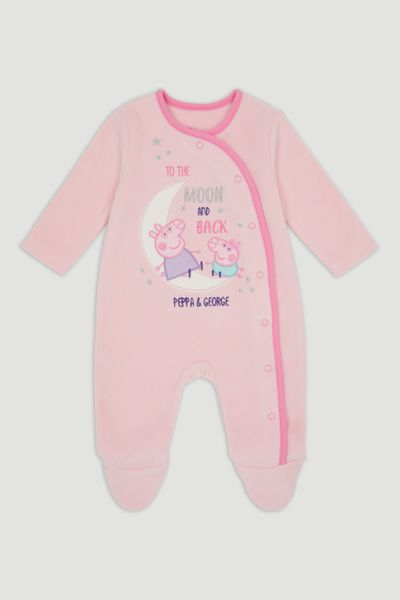 Peppa Pig Pink Fleece Onesie
