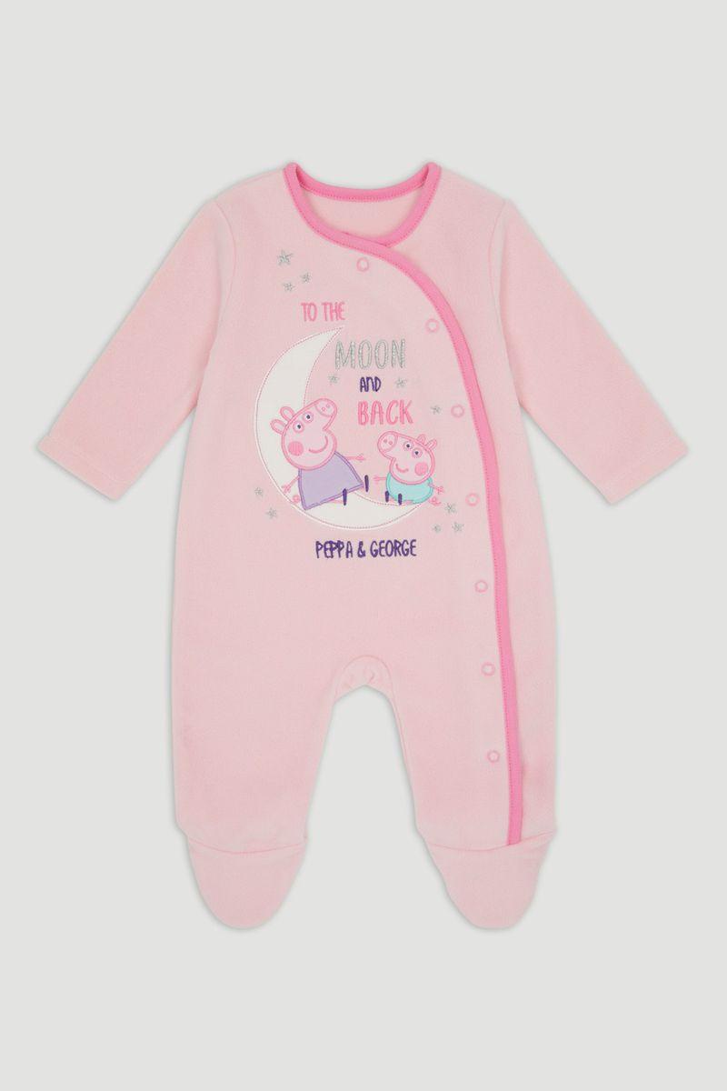 Peppa Pig Pink Fleece Onesie